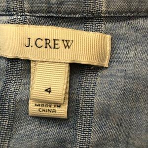 J. Crew Tops - Jcrew tunic top (Light blue)
